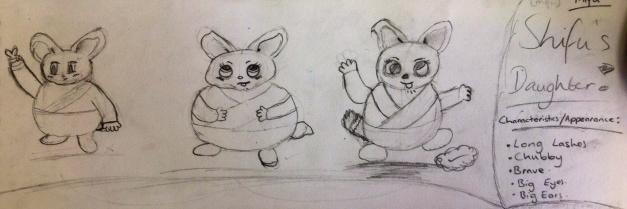 Designs for Shifu's daughter