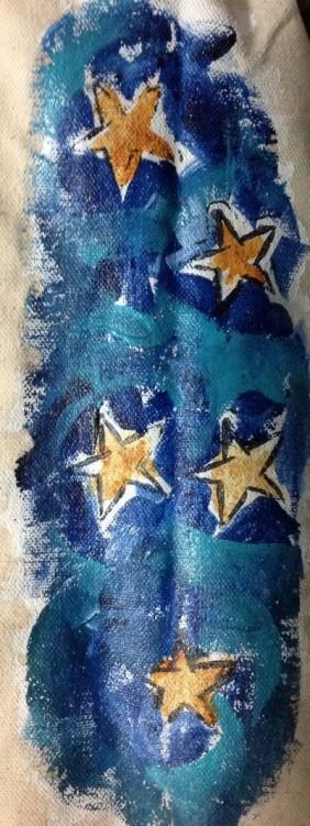 Star symbol side panel